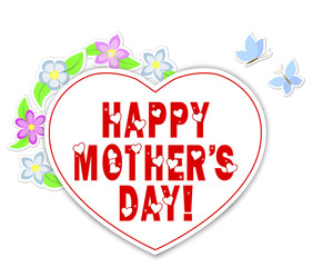 Stickers Mother's day.