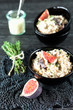 Fig and Goat Cheese Risotto