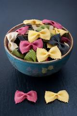 Farfalle pasta (macaroni)