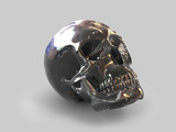 Black Crystal Skull