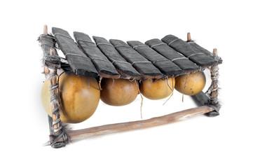 Balafon, instrument de percussion africain.