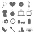 Collection of icons. Vector design.