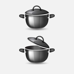 Black pans