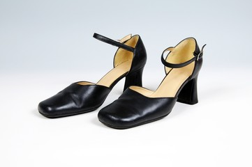 Pair of ladies leather shoes © Arena Photo UK