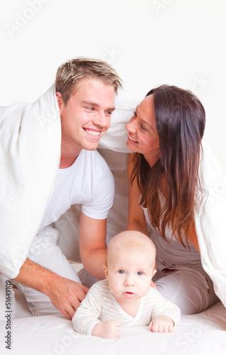 freude familie leben