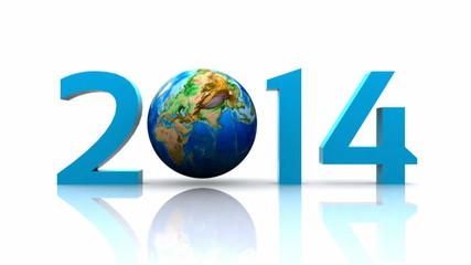 Worldwide..celebrates the New Year - 2014