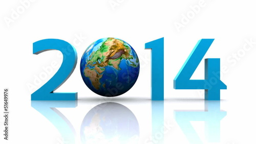 Worldwide..celebrates the New Year - 2014