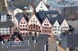 Frankfurt am Main - Römer (Rathaus), Blick vom Domturm - 2013