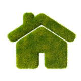 Grass house icon