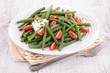 french bean salad with tomato