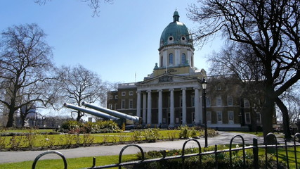 Imperial War Museum - Main Entrance.