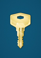 Golden key
