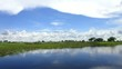 Traumhafte Landschaft im Okavangadelta