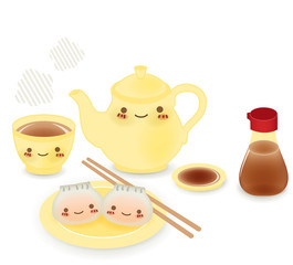 Cute Dim sum - Chinese Food