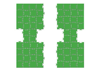 Puzzle Simetrik