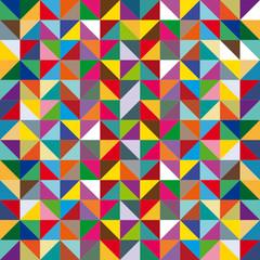 Muster Dreiecke Bunt