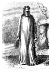 Celtic/Gallic Man : Druid (Antiquity & Middle-Ages)