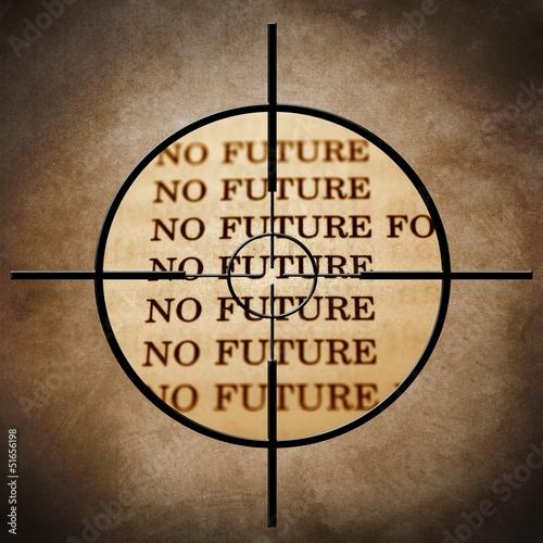 No future target