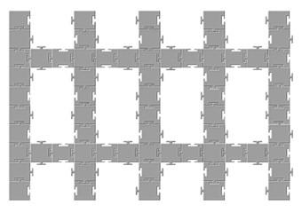 Tarak puzzle tasarımı