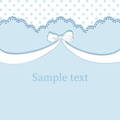 Vector blue children's pattern