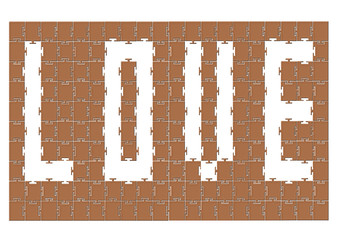 Love puzzle tasarım