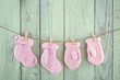 Socks And Mittens On Vintage C...