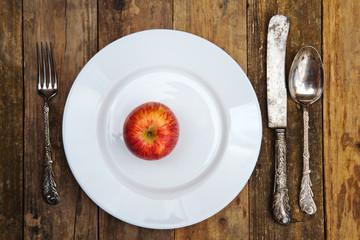 Apfel-Mahlzeit