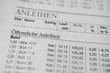 Öffentliche Anleihen Zeitung Nahaufnahme