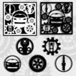 шестеренки и автомобиль