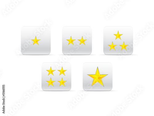 stars for ranking