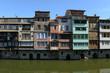 Les maisons sur l'Agoût à Castres