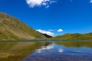 Lago Fallère in Valle d'Aosta
