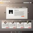 Vector Website Design Template