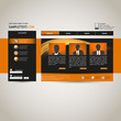 Orange Website Template