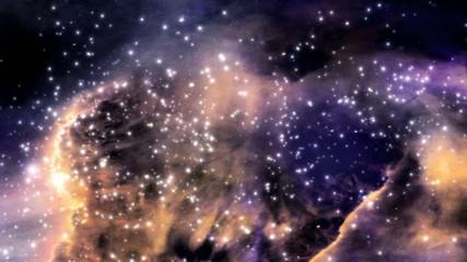Space galactic nebula