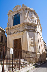Church of Nova. Lecce. Puglia. Italy.