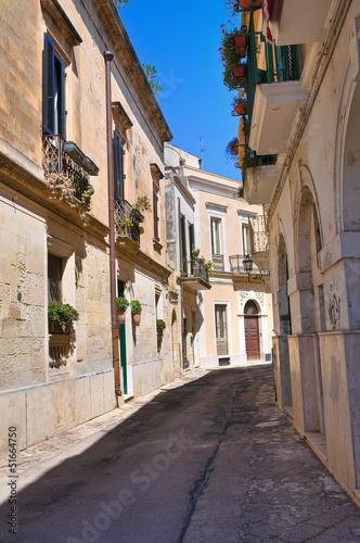 Ul. Lecce. Puglia. Włochy.