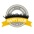 Party-Button: Happy Hour