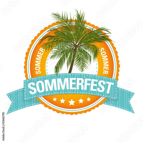 Button: Sommerfest