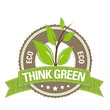 Green Button: Eco – Think Green
