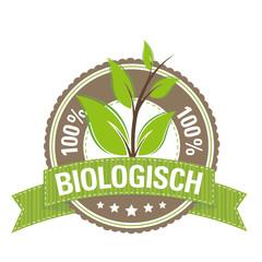 Green Button: 100 % Biologisch