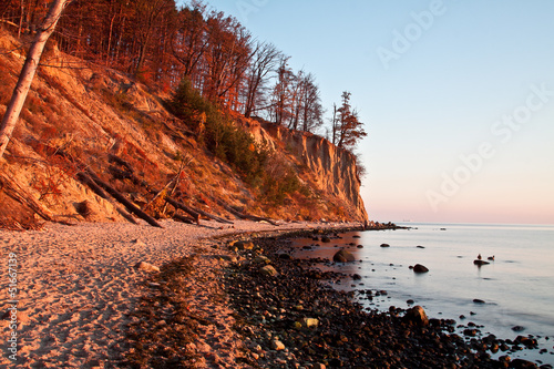 Autumn by the Sea, autumn landscape, cliff orlowo, Gdynia