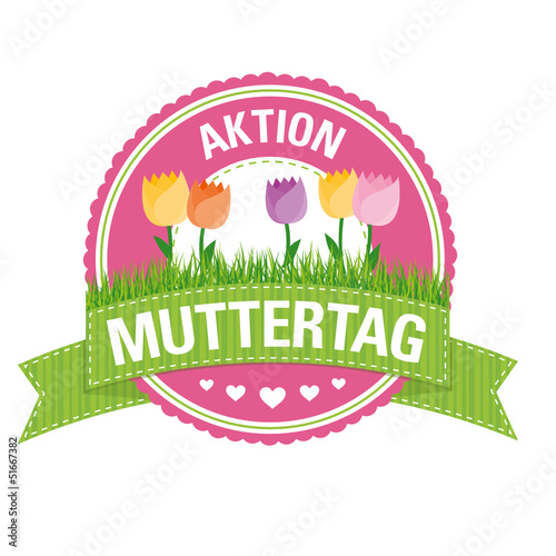 Button: Aktion Muttertag