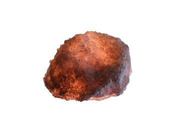 Crystals of sea salt