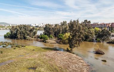 Río Guadiana en Mérida