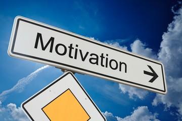 Schild Motivation
