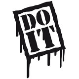 do , do it , blood, graffiti , stamps, spontaneously , performan poster
