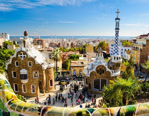 park-guell-w-barcelonie,-hiszpania,-zdjecie