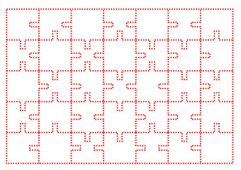 Kkırmızı Noktalı puzzle