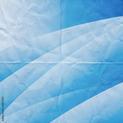 blue abstract paper